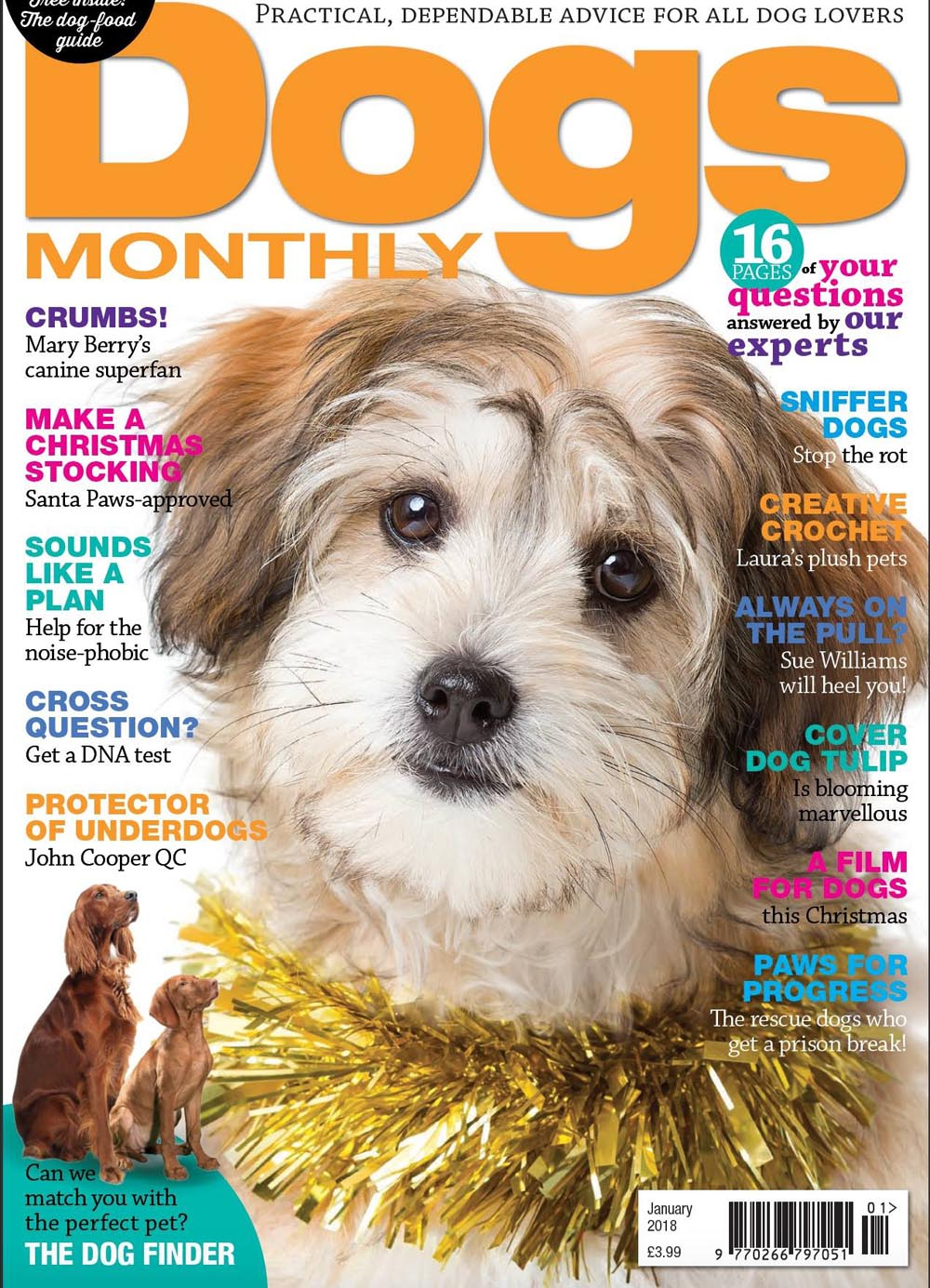 January 2018 Dogs Monthly